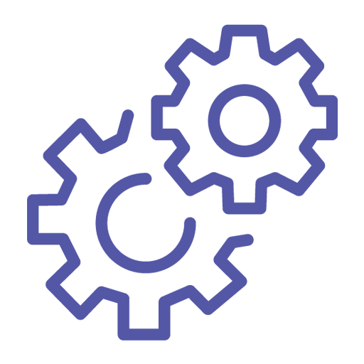 gears turning animation representing maintenance free web design brought to you by brambaly
